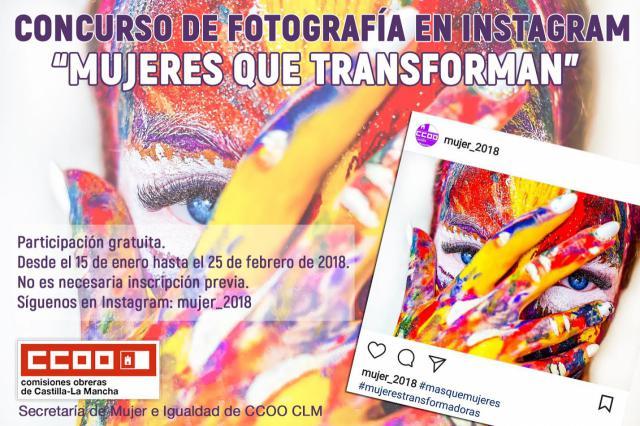 CCOO CLM convoca un concurso de fotografía en Instagram