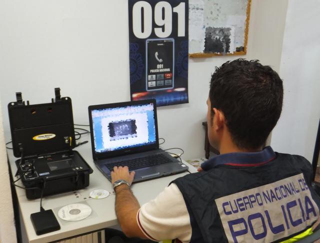 Detenido un hombre en la provincia de Toledo por descargar pornografía infantil a través de Internet
