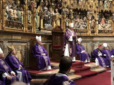 Misa por el centenario del nacimiento del cardenal Marcelo González Martín