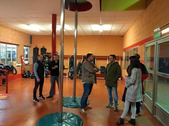 Cs Talavera reclama actuaciones de mejora en el Parque Municipal de Bomberos ante la situación de abandono