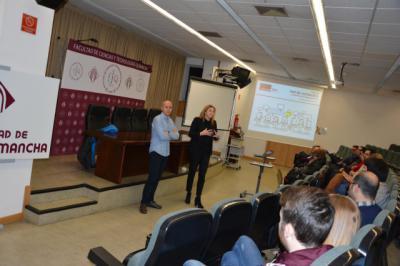 20 estudiantes de la UCLM en Talavera participan en la Semana del Empleo 2018