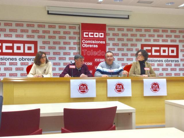 """UGT y CCOO llaman a la movilización el 15-F por el """"trabajo y pensiones dignas"""
