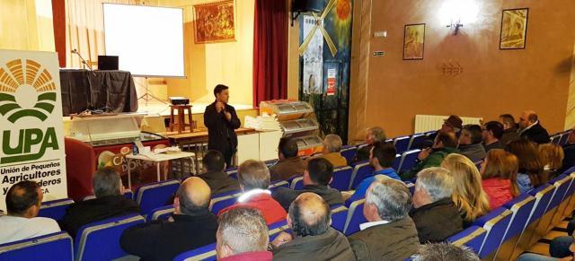 UPA CLM explica la injusticia con los regantes de La Mancha