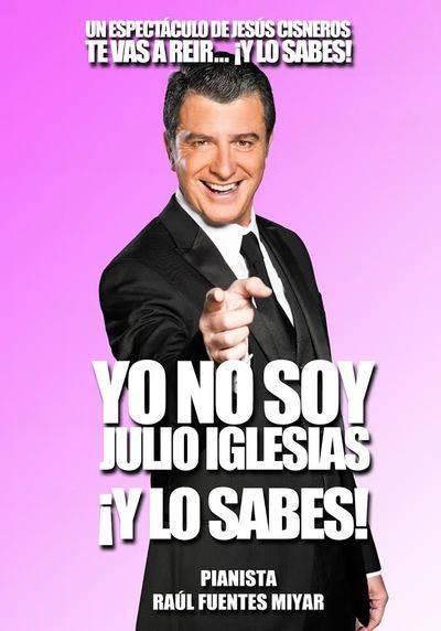 El talaverano Jesús Cisneros no es Julio Iglesias ¡Y lo sabes!