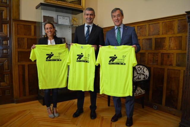 La Diputación de Toledo muestra su apoyo a la 5ª carrera solidaria de Caja Rural CLM