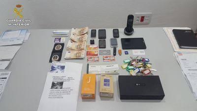 La Guardia Civil desarticula una red que estafó 150.000 euros mediante el timo del nazareno