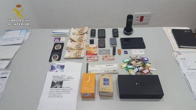 La Guardia Civil de Cuenca desarticula una red que estafó 150.000 euros mediante el timo del nazareno