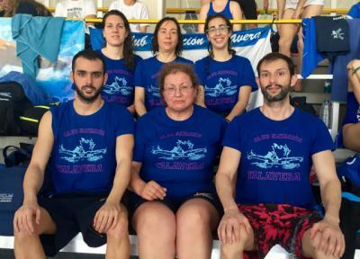 El Club Natación Talavera de nuevo dentro del top ten nacional máster