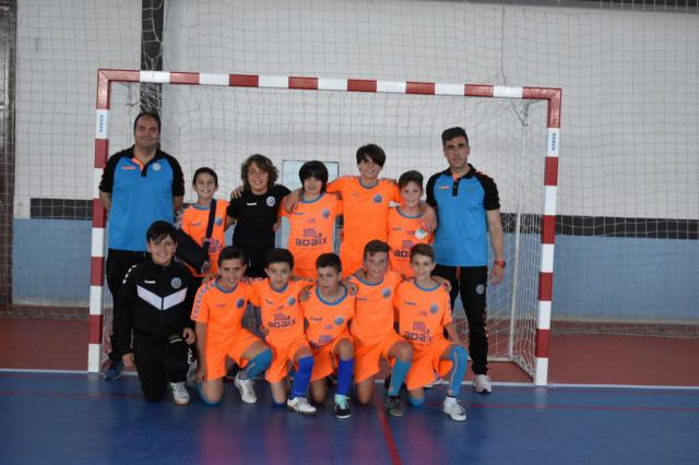 El CF Élite Talavera conquista la fase provincial benjamín y alevín de fútbol sala