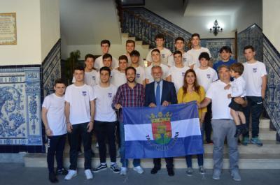 Reconocimiento a los éxitos de la Academia del Soliss FS Talavera y al CF Talavera Juvenil