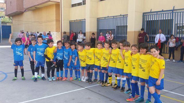 Comienzan los play off por el título de la V Liga Escolar de Fútbol Sala 'Ciudad de la Cerámica'