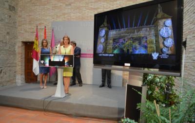 La Diputación respalda el espectáculo 'Luz Toledo' con 20.000 euros