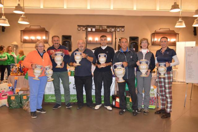 Torneo a favor de la AECC en Palomarejos Golf