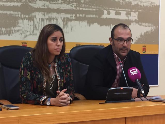 Los exconcejales de Ciudadanos, Jonatan Bermejo y Montaña Palacios