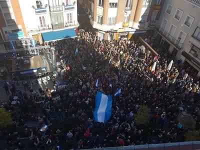 ESPECIAL 11-N  Miles de personas se manifiestan en Talavera pidiendo