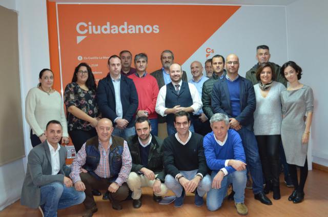El nuevo Comité Provincial de Ciudadanos (Cs) Toledo
