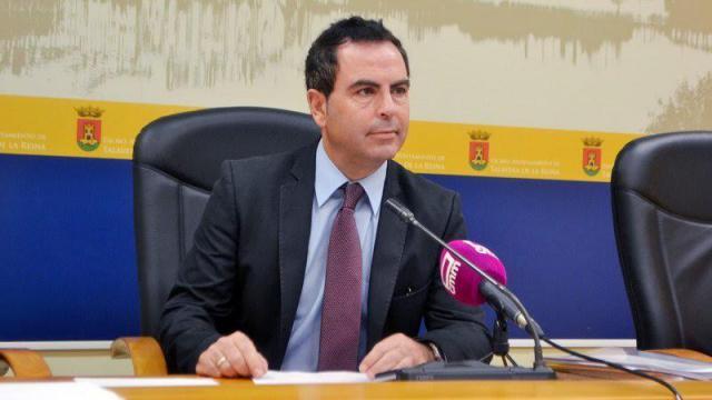 El portavoz Socialista, José Gutiérrez
