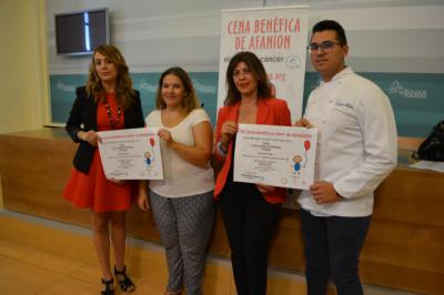 La Diputación anima a los toledanos a asistir a la III Cena Benéfica de AFANION
