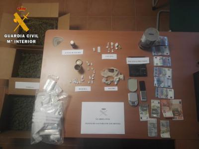 La Guardia Civil detiene en San Pablo de los Montes a una persona por un delito de tráfico de drogas