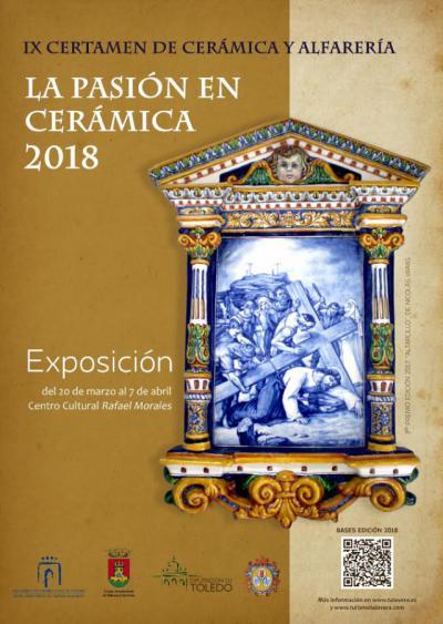 Abierto el plazo para presentarse al concurso 'La Pasión en Cerámica'