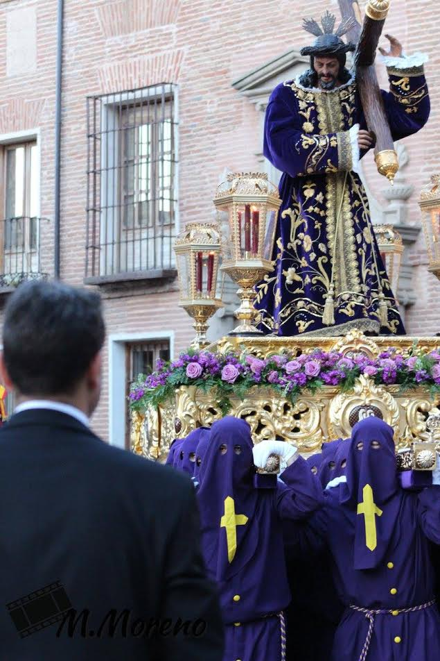 La imagen de Nuestro Padre Jesús Nazareno presidirá el Vía Crucis del Miércoles de Ceniza