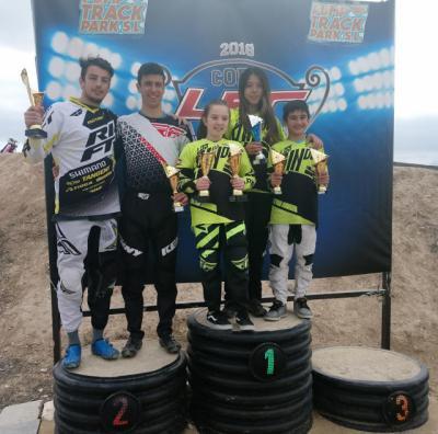 Buen comienzo de temporada para el Club Los Pinos de BMX