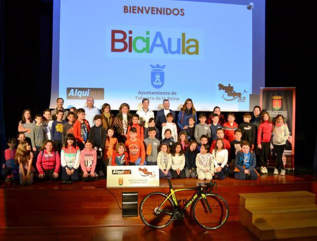 BiciAula promueve el uso de la bici en las escuelas