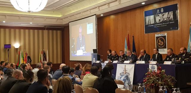 Representantes de más de 100 países acuden desde este martes en Toledo a la conferencia mundial de Interpol sobre drogas
