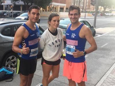 Gran actuación del CD Ebora Runners en la Media Maraton de Valladolid