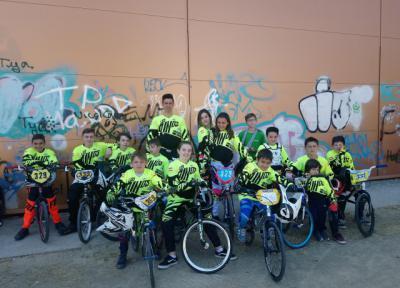 Excelentes resultados para los riders del club Los Pinos de BMX en la VI Liga Interclubs en Talavera