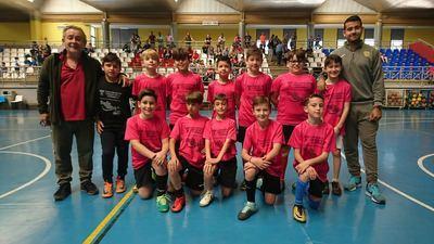 Cristóbal Colón hace pleno y mete tres finalistas en la V Liga Escolar de FS 'Ciudad de la Cerámica'