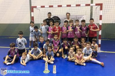 Gran papel de la cantera del Soliss FS Talavera en el I Torneo de Segurilla