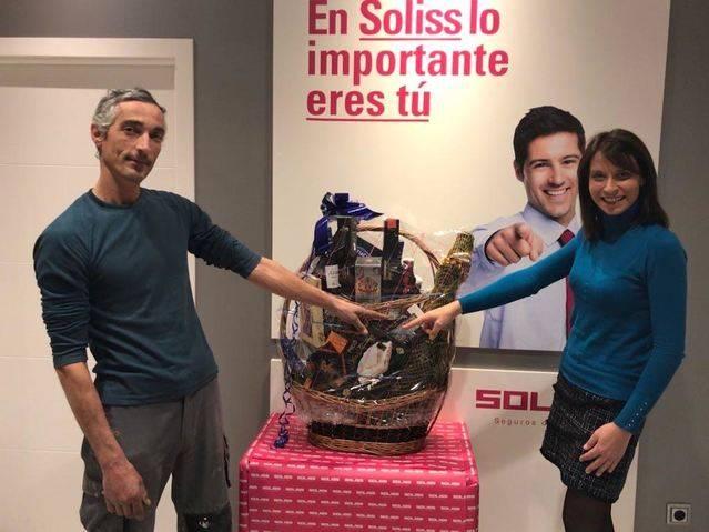 Seguros Soliss entrega sus cestas de Navidad