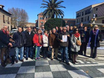 Otro lunes reivindicativo en Talavera para reclamar pensiones dignas