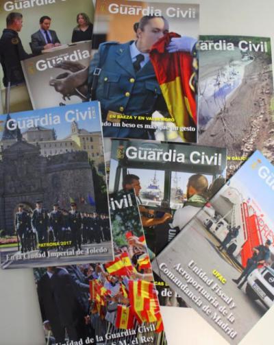 Pedía dinero a empresarios a cambio de publicidad en una revista ficticia de Guardia Civil