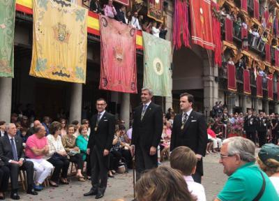 Diputación destaca el sentimiento religioso y de orgullo de ciudad que combina el Corpus de Toledo