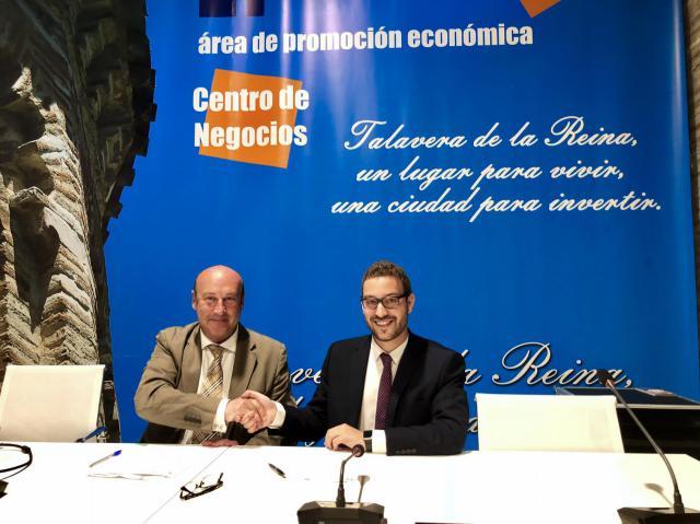 El Ayuntamiento firma un convenio de colaboración la Cámara Hispano Portuguesa de Comercio