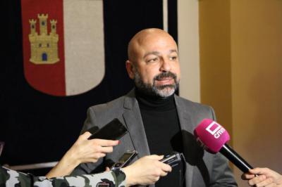 El secretario general de Podemos-CLM, José garcía Molina