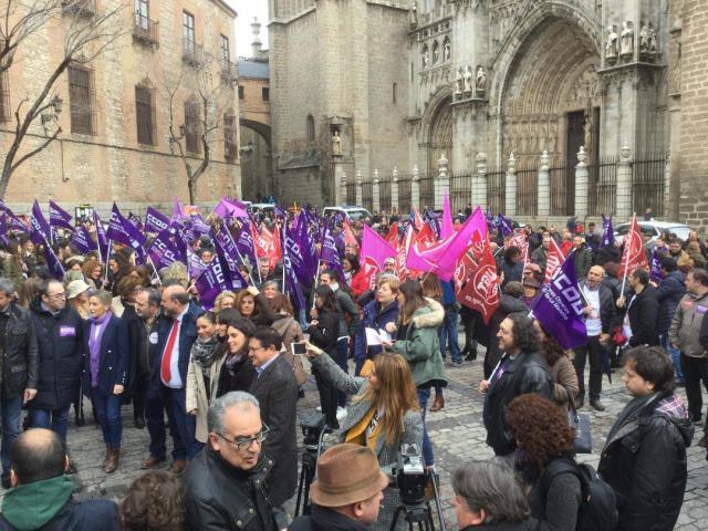 """8-Marzo: """"Huelga histórica y alto seguimiento en Castilla-La Mancha"""""""