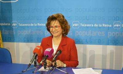 La portavoz de los 'populares' en la región, Carmen Riolobos / Archivo