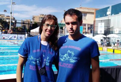 Sara Colilla y Álvaro Arroyo, del CN Talavera, plata y bronce en el nacional de verano