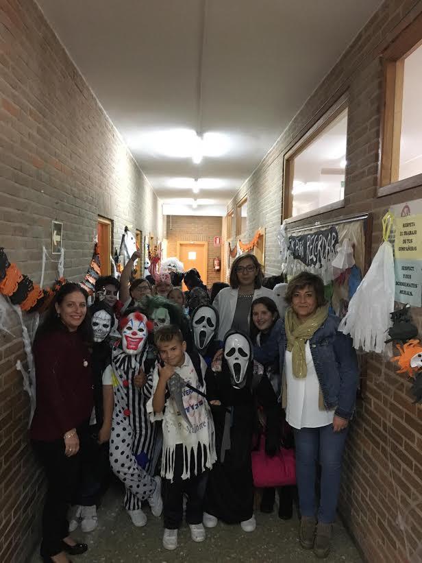 Halloween con esencia de Talavera en el Cristóbal Colón