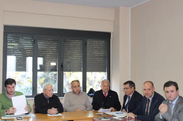 Reunión de los representantes de las distintas administraciones con la Mesa