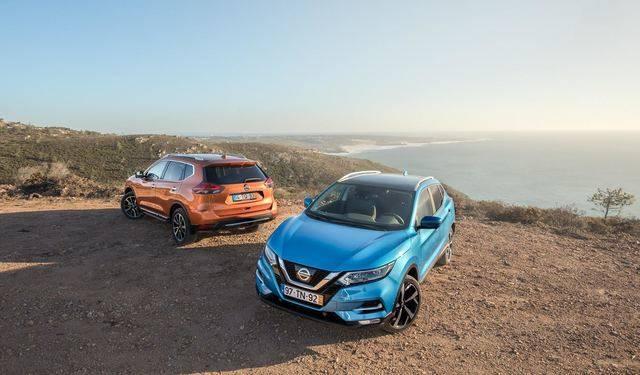 """Nissan Qashqai y X-Trail """"reinan"""" en el segmento de moda en el mercado español"""