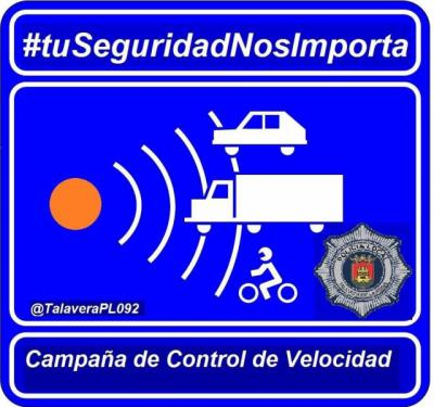 La última campaña de control de velocidad en Talavera se cierra con 17 sancionados