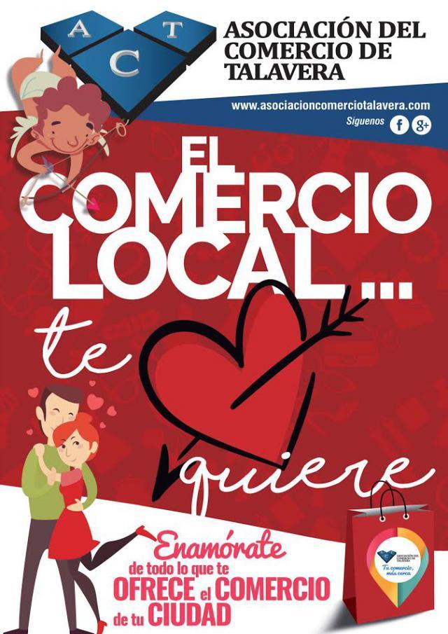 El comercio local 'enamora' en San Valentín