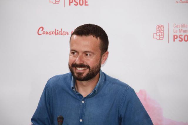 El parlamentario del PSOE José Luis Escudero