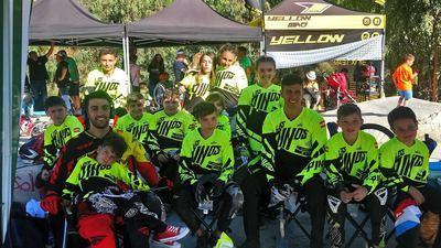 El Club Los Pinos continúa arrasando en la Liga Nacional LBR de BMX