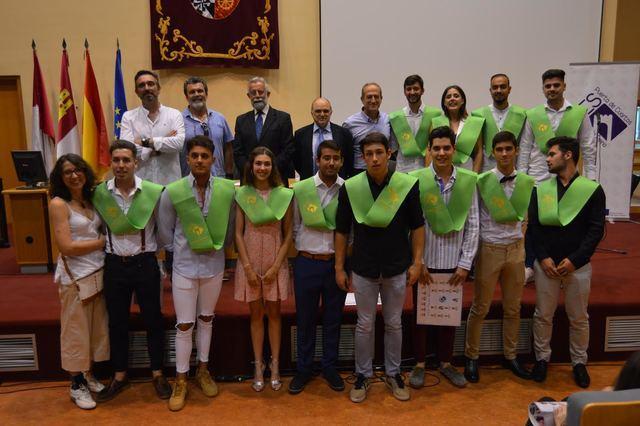 Acto de graduación de los estudiantes de los Ciclos de Grado Superior del IES Puerta de Cuartos