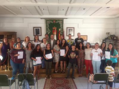 75 alumnos concluyen los cursos de formación para el Empleo en Navalcán